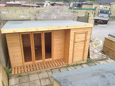 Retreat Combi Shed Penthouse
