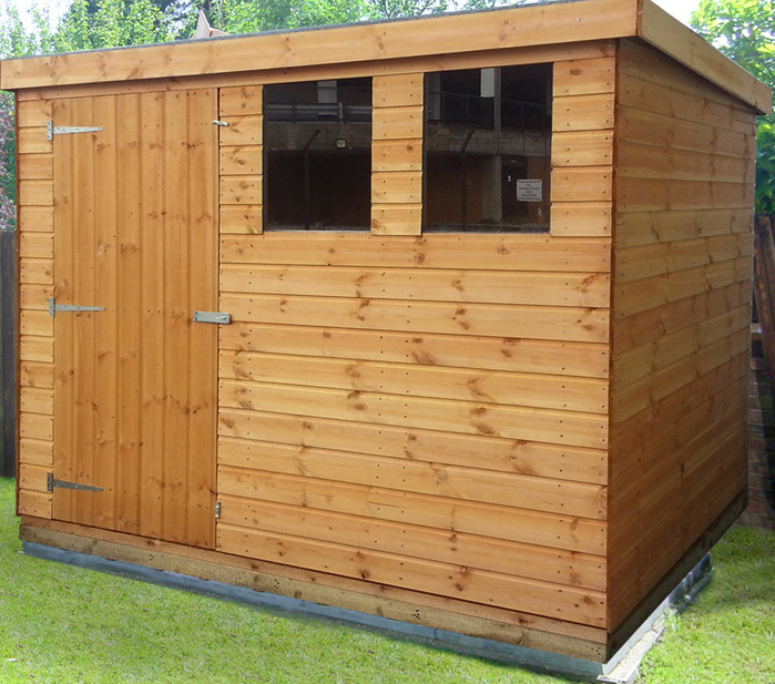 Tongue and Groove Pent Shed
