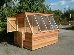 Cedar Potting Shed