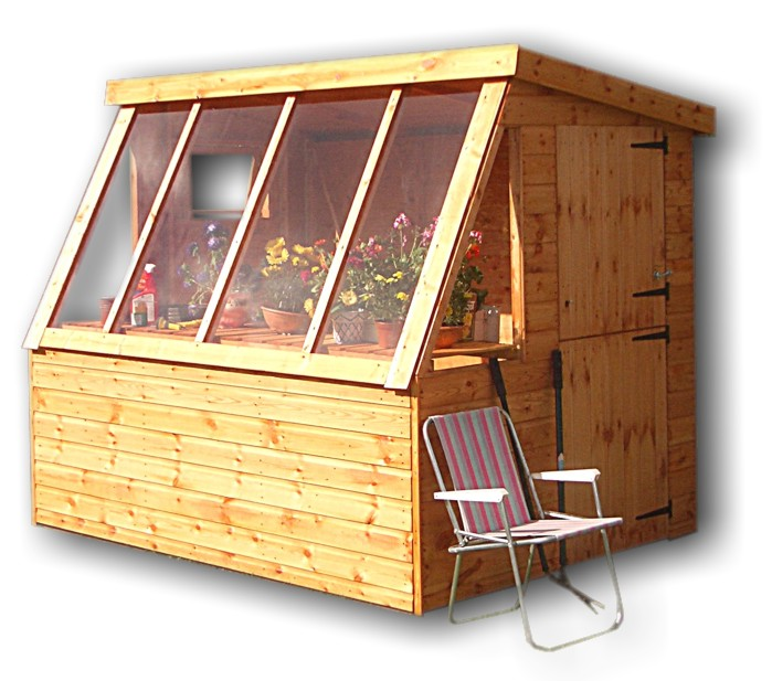 Pent Potting Shed